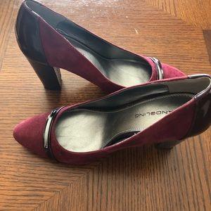 4 inch heel pumps